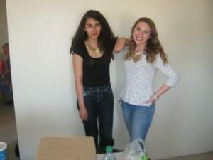 Erica and Gabrielle